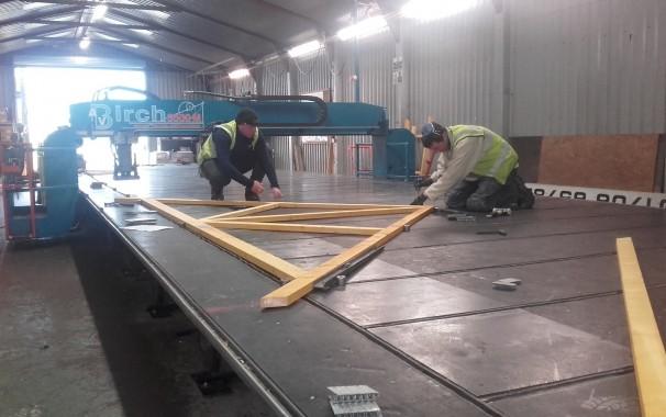 AV Timber Engineering Table Press