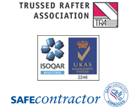 Trusted Rafter Association, UKAS and Safe Contractor Approved
